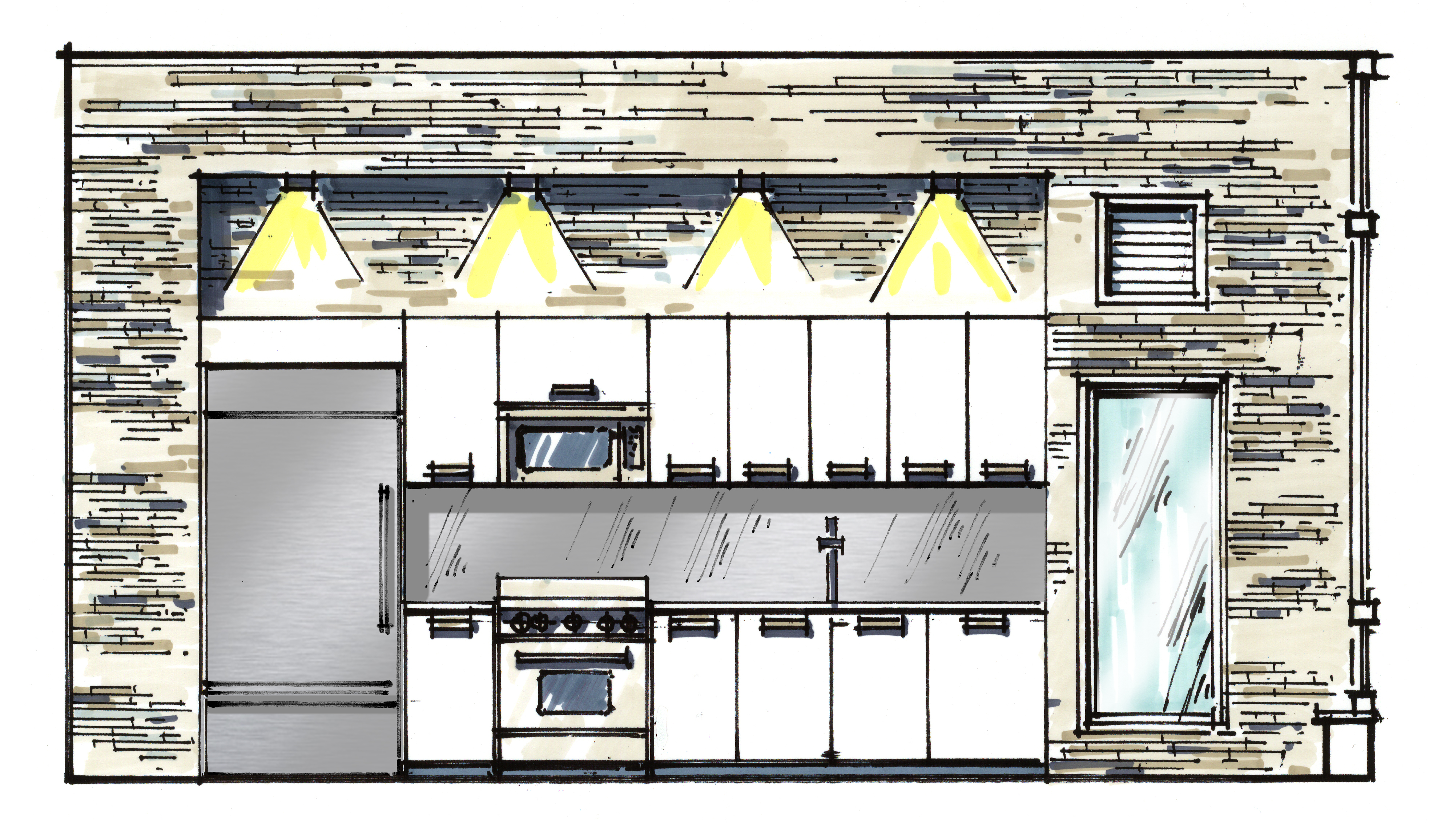 Front Elevation Kitchen : House of sienna mack living and loving design page